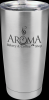 Vacuum Insulated Stainless Steel Tumbler with Clear Lid Gift Awards
