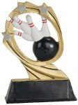 Bowling Cosmic Resin Trophy Cosmic Resin Trophy Awards