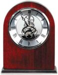 Rosewood Piano Finish Arch Clock Gift Awards