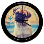 Round Clock with Black Frame Gift Awards
