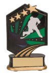 Hockey Resin Trophy Graphic Star Resin Trophies